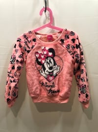 Pink, Black, and White Minnie Mouse Disney Sweater Washington, 20020