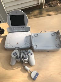 Ps1 with travel battery and case. in great condition Springfield, 22153