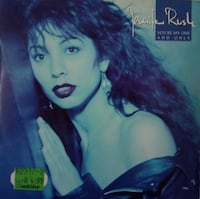 JENNİFER RUSH(YOU'RE MY ONE-AND ONLY)45'LİK PLAK
