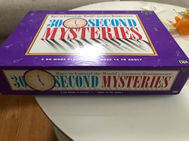30 second mysteries board game (1995)