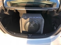 black and gray subwoofer speaker Edmonton, T6T
