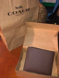 Coach wallet bifold with pocket Woodland, 95776