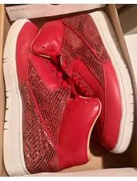 NIKE AIR PYTHON LUX SP SNAKESKIN RED MENS SIZE 8.5 Suitland, 20746