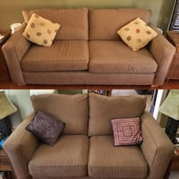 Couch Sofa Set (Love Seat + Sofa) 2 pieces East Gwillimbury, L0G 1M0