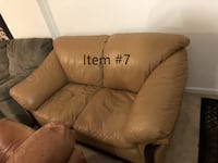 Light Brown Loveseat  Potomac