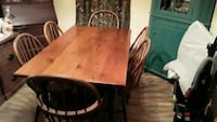 Dining room table with 6 chairs. 100% Hand made.  Halethorpe, 21227