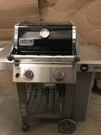 gray and black Weber gas grill Gaithersburg, 20878