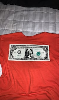 Supreme dollar tee orange Whitby, L1M 1E9