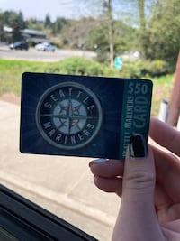 Mariners Team Store Gift Card Seattle