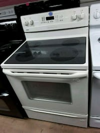 white and black induction range oven Woodbridge, 22191