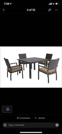 Woven outdoor patio furniture sets
