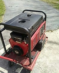 Generator 7000 watts with wagon and cords call 508 Cumberland, 02864