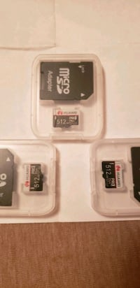 Sd micro cards .... 512 gb each  Winnipeg, R3G 1X9