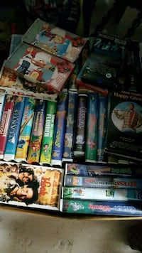 Vintage Movie collection (VHS) Cape Coral, 33904