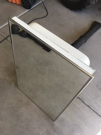 white and black wooden table Mesa, 85212