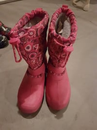 pair of pink leather boots Regina, S4N 1S7