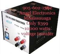 10000 Voltage converter/Transformers Available @ Angel Electronics Mis Mississauga, L5V 1W1