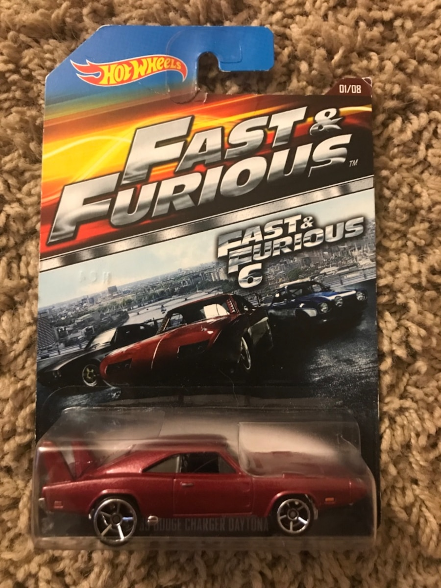 Fast and furious hot wheels, $5 a piece - SC
