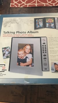 Talking photo album brand new in box. Westerville, 43081