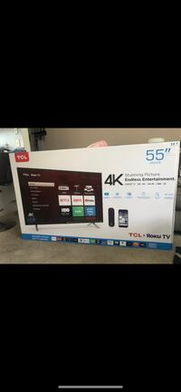 """Brand New TCL 55"""" 4K TV with ROKU  Los Angeles, 90291"""