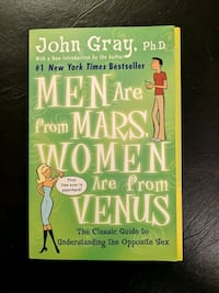 Men are from Mars, Women are from Venus Toronto, M2M 3V8
