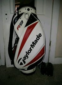 white and red golf bag Moberly, 65270