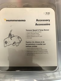 Hummingbird transom speed and temp sensor  Scugog, L9L 1W6
