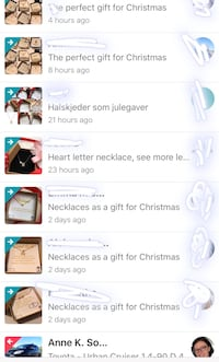 Necklaces as a gift for Christmas Heimdal, 7072