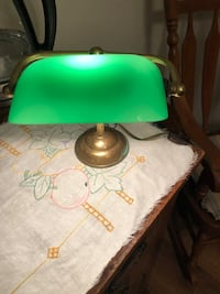 Green banker desk lamp Ashburn, 20147