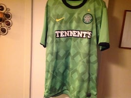 Tennent's dri-fit soccer jersey size large