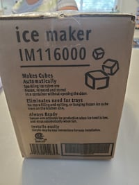 Frigidaire Ice Maker Brand New still in box , not what we were looking for. $75.00 or best offer Hamilton
