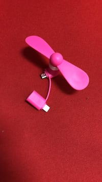 Mobile fan (works on iPhone and android) New Westminster, V3M