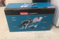 "Brand new makita 14"" 61 cc gas saw"