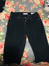 black denim straight cut jeans Fresno, 93704
