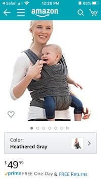 Boppy ComfyFit Baby Carrier New