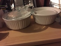 two white ceramic bowls with lids New Tecumseth, L9R