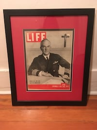 Collectors framed life magazine pictures Vancouver, V6G 2C9