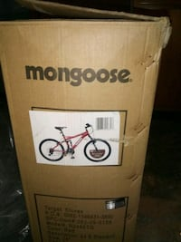 Brand new still in box mongoose mountain bike must pick up firm price