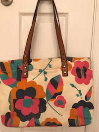 Fossil canvas tote Columbus, 31907