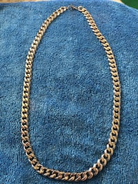 Silver Plated Necklace Edmonton