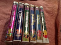 Disney VHS movies Masterpiece Collection