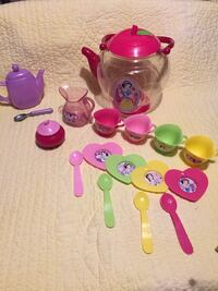 pink and purple plastic toy WOBURN