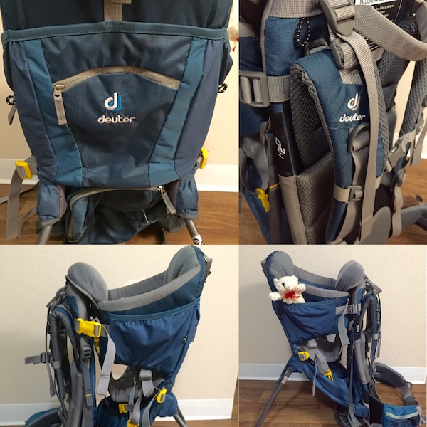 a710f2066f1 Used Deuter Kid Comfort 2 Baby Kid Carrier Backpack REI for sale in Kent -  letgo