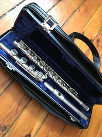 Armstrong open hole flute with B foot all sterling silver Chicago, 60657