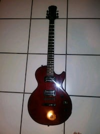 black and red electric guitar Hialeah, 33018