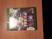 Xbox One Fifa14 game case