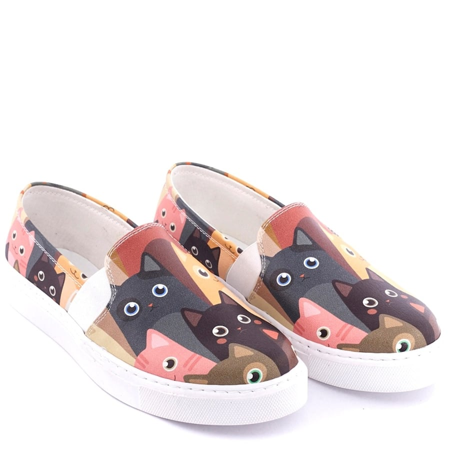 Cat slip on shoes 7