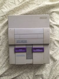 SNES console with game cartridge Halifax, B3K