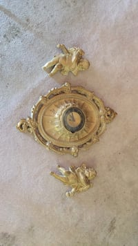 French Clock w/Angels Sonora, 95370