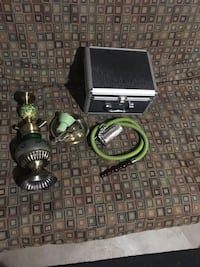 Green hookah for sale with heavy duty case Saratoga Springs, 84045